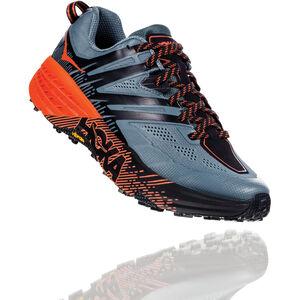Hoka One One Speedgoat 3 Running Shoes Herren stormy weather/tangerine tango stormy weather/tangerine tango