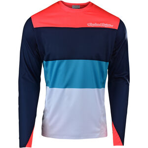 Troy Lee Designs Sprint Elite LS Jersey Herren beta/navy/orange beta/navy/orange