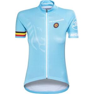 Bioracer Van Vlaanderen Pro Race Jersey Damen blue blue