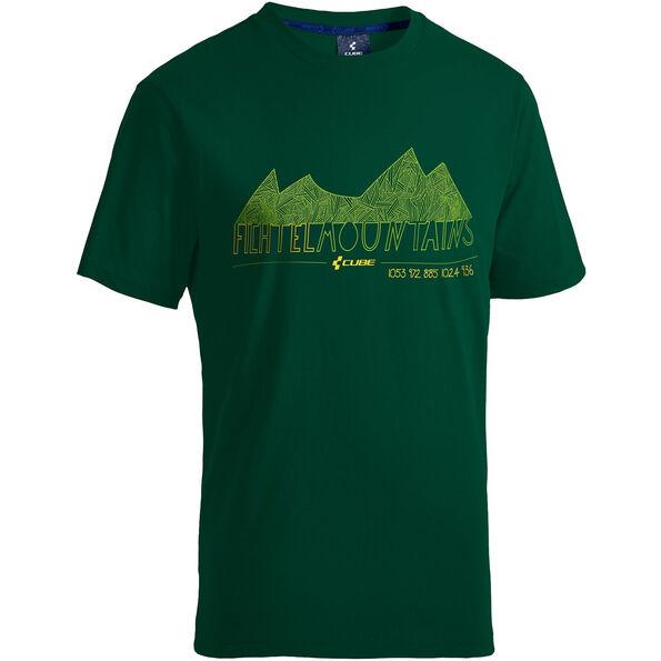 Cube Fichtelmountains T-Shirt Kids green'n'yellow
