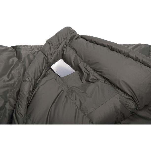 Grüezi-Bag Biopod DownWool Summer Comfort Sleeping Bag deep forest