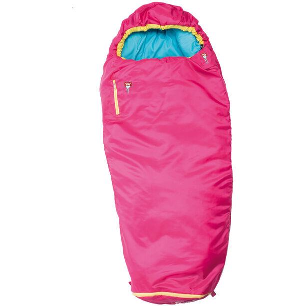 Grüezi-Bag Grow Colorful Sleeping Bag Kinder rose