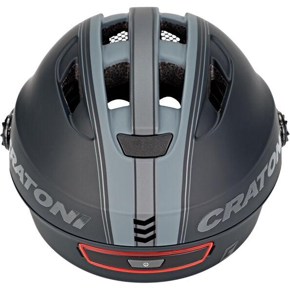 Cratoni Evo Fahrradhelm schwarz/anthrazit matt