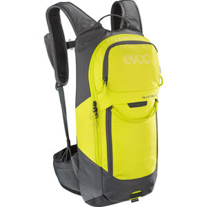EVOC FR Lite Race Protector Backpack 10l carbon grey/sulphur carbon grey/sulphur