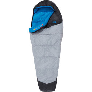 The North Face Blue Kazoo Sleeping Bag Long high rise grey/hyper blue high rise grey/hyper blue