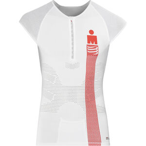 Compressport TR3 Triathlon Tank Top Unisex Ironman Edition Smart White
