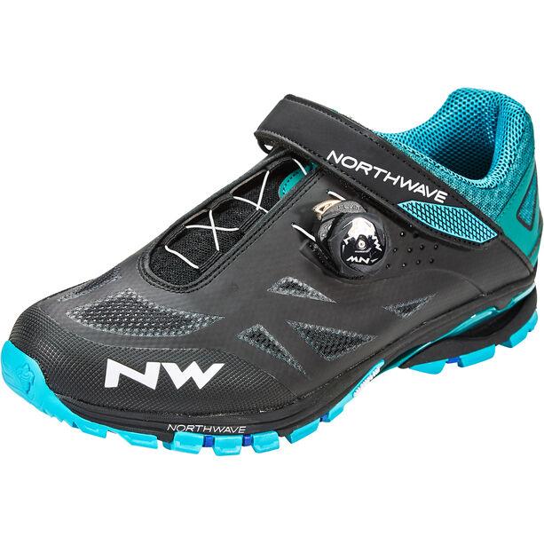 Northwave Spider Plus 2 Schuhe Herren black/blue