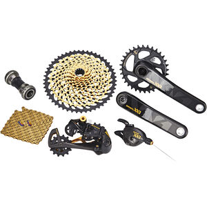 SRAM XX1 Eagle Gruppe 1x12s GXP schwarz/gold bei fahrrad.de Online