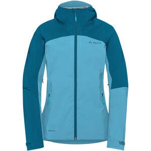 VAUDE Moab Rain Jacket Damen crystal blue crystal blue