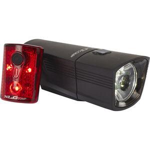 XLC Comp CL-S14 Beleuchtungs Set Francisco/Pan schwarz schwarz