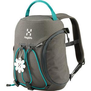 Haglöfs Corker X-Small Backpack Kids 5l magnetite/alpine green
