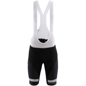 Craft Hale Glow Bib Shorts Men black/silver