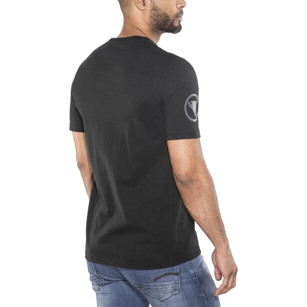 Endura One Clan Carbon T-Shirt Herren black