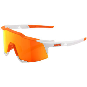 100% Speedcraft HD Multilayer/Hiper Glasses Tall soft tact day glo orange/white soft tact day glo orange/white