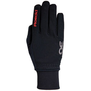 Roeckl Rossa Handschuhe schwarz/rot bei fahrrad.de Online
