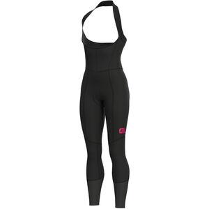 Alé Cycling Clima Protection 2.0 Future Be-Hot Trägerhose Damen black-fluo pink black-fluo pink