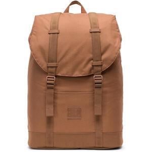 Herschel Retreat Mid-Volume Light Backpack saddle brown