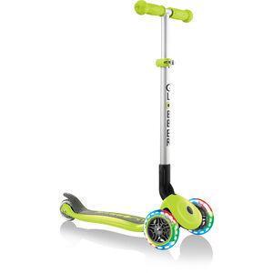 Globber Primo Foldable Lights Roller mit Batterielosen LED Rollen Kinder green green
