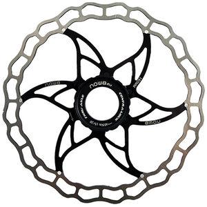 NOW8 Centerlight Disc Brake Rotor with Lockring black black