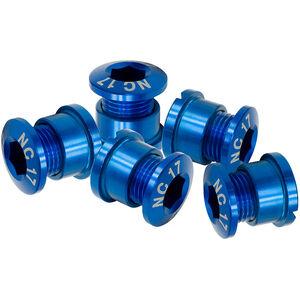 NC-17 Kettenblattschraube 4 und 5 Loch blau blau