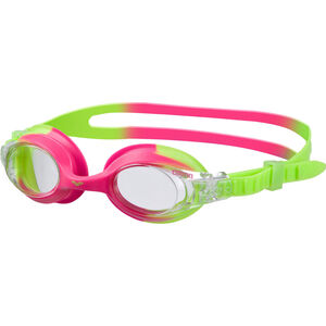 arena X-Lite Goggles Kinder green pink-clear green pink-clear