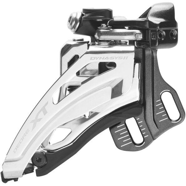 Shimano Deore XT FD-M8020 Umwerfer 2x11-fach Direktmontage Side-Swing schwarz/silber