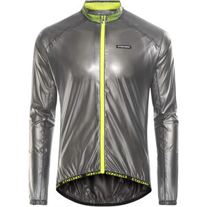 Etxeondo Busti Rain Jacket Men Black/Fluor