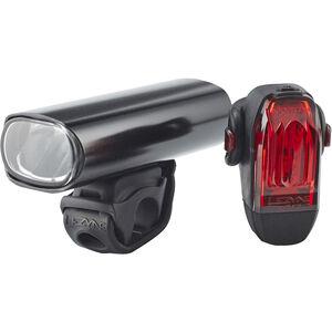 Lezyne Hecto Pro+KTV Beleuchtungs Set schwarz-glänzend schwarz-glänzend