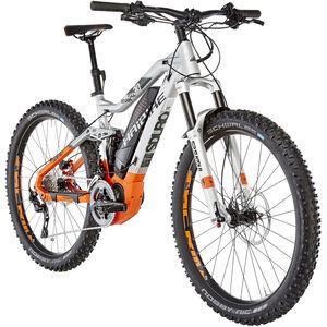 HAIBIKE SDURO FullSeven 8.0 Silber/Orange/Olive matt bei fahrrad.de Online
