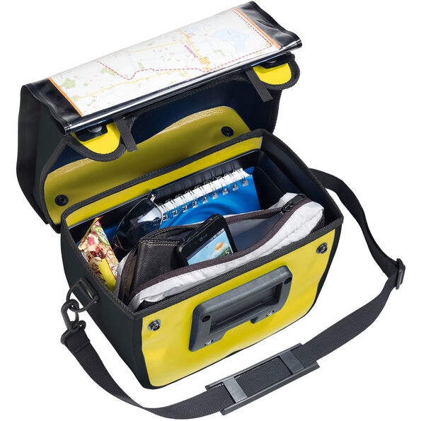 VAUDE Aqua Box Handlebar Bag canary
