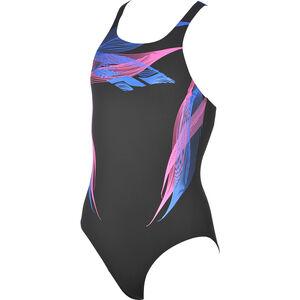 arena Mask One Piece Swimsuit Girls black-pix blue bei fahrrad.de Online