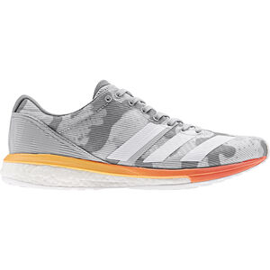 adidas Adizero Boston 8 Low-Cut Schuhe Damen grey two/footwear white/hi-res coral grey two/footwear white/hi-res coral