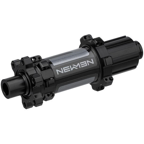 NEWMEN MTB Hinterradnabe 12x148mm 6-Bolt Shimano Gen2 black anodized/grey