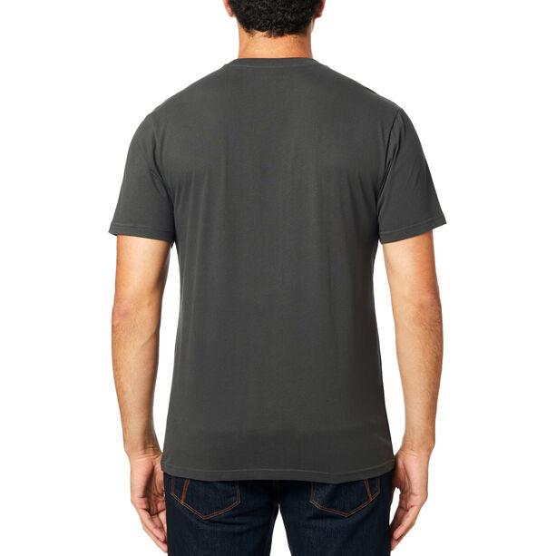 Fox Chapped Airline Kurzarm T-Shirt Herren black/orange