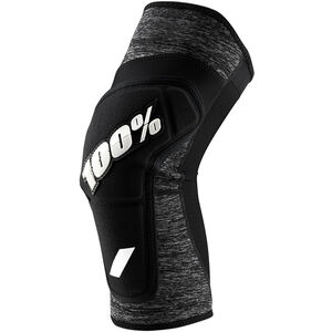 100% Ridecamp Knee Guards grey heather/black grey heather/black