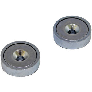 magped M150 Neodym Magnete silber