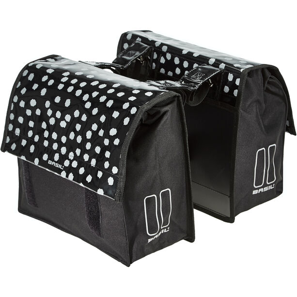 Basil Urban Load S Doppel-Gepäckträgertasche 25l black/reflective