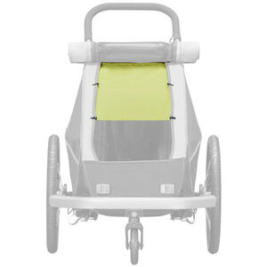 Croozer Sun protection für Kid Plus / Kid for 1 Kinder lemon green lemon green