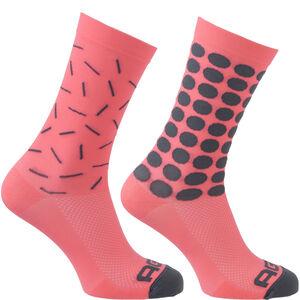 AGU Essential Sprinkle Socks neon coral
