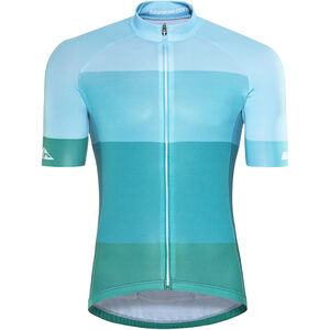 Red Cycling Products Colorblock Race Jersey Herren green-blue green-blue