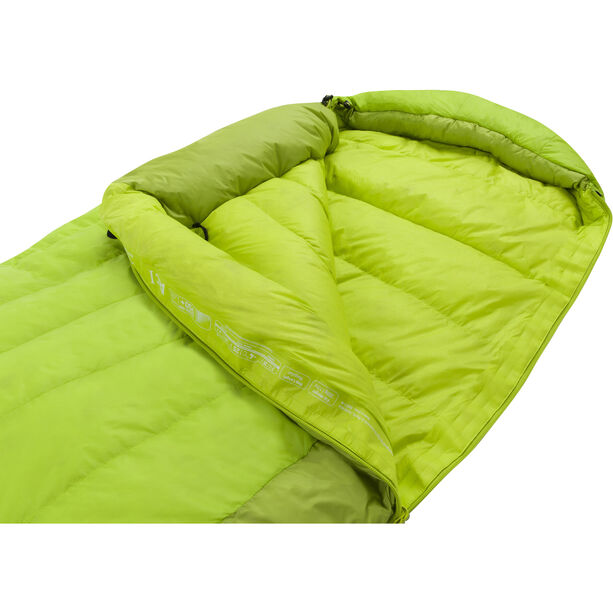 Sea to Summit Ascent AC I Schlafsack Lang lime/moss