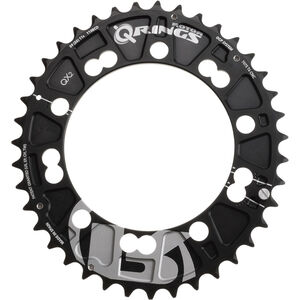 Rotor QX2 Q-Ring MTB Kettenblatt 110mm außen schwarz schwarz