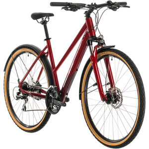 Cube Nature Allroad Trapez red/grey red/grey