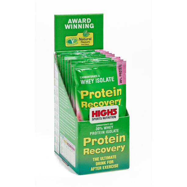 High5 Protein Recovery Drink Box 9x60g Summer Fruits