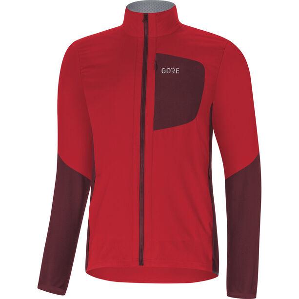 GORE WEAR C5 Windstopper Insulated Jacket Herren red/chestnut red