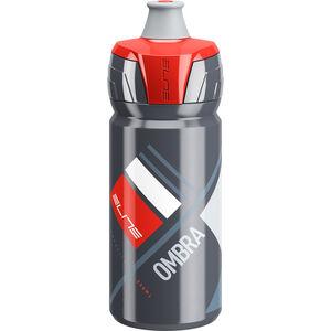 Elite Ombra Trinkflasche 550ml grau/rot