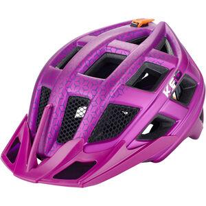 KED Crom Helmet violet matt violet matt