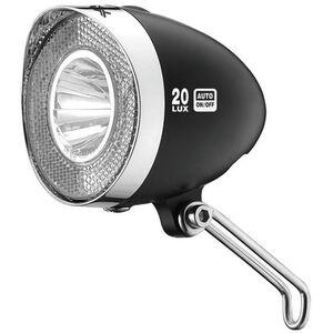 XLC LED Retro Scheinwerfer schwarz schwarz