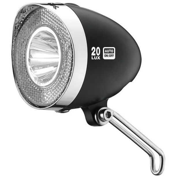 XLC LED Retro Scheinwerfer schwarz
