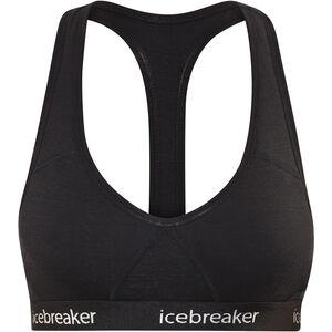 Icebreaker Sprite Racerback Bra Damen black black
